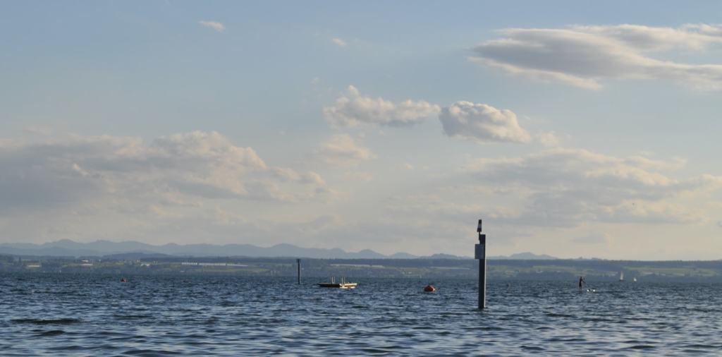 View at Lake Constance, aka Bodensee